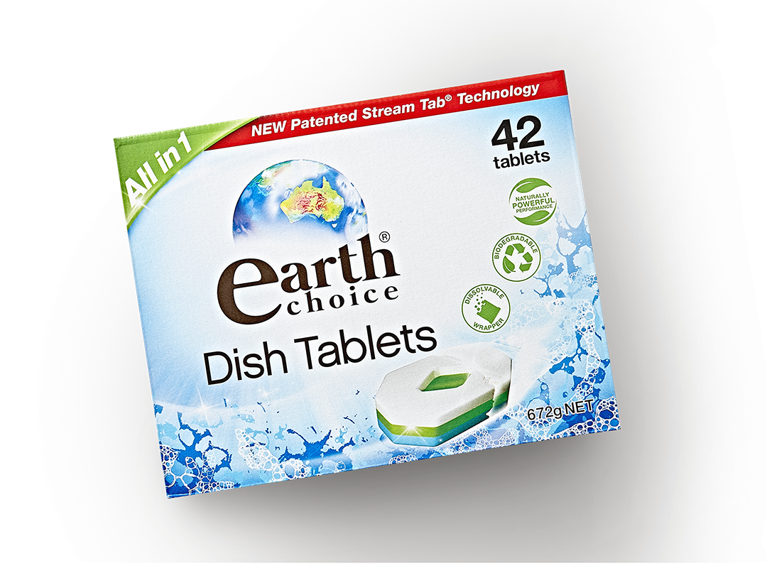All-in-1 Dishwashing Tablets – 42 Pack