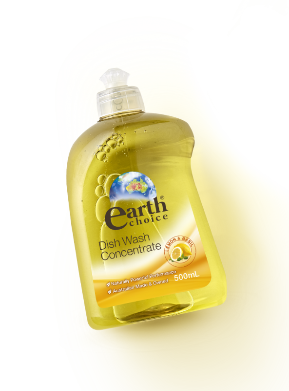 Lemon & Basil Dishwash Concentrate