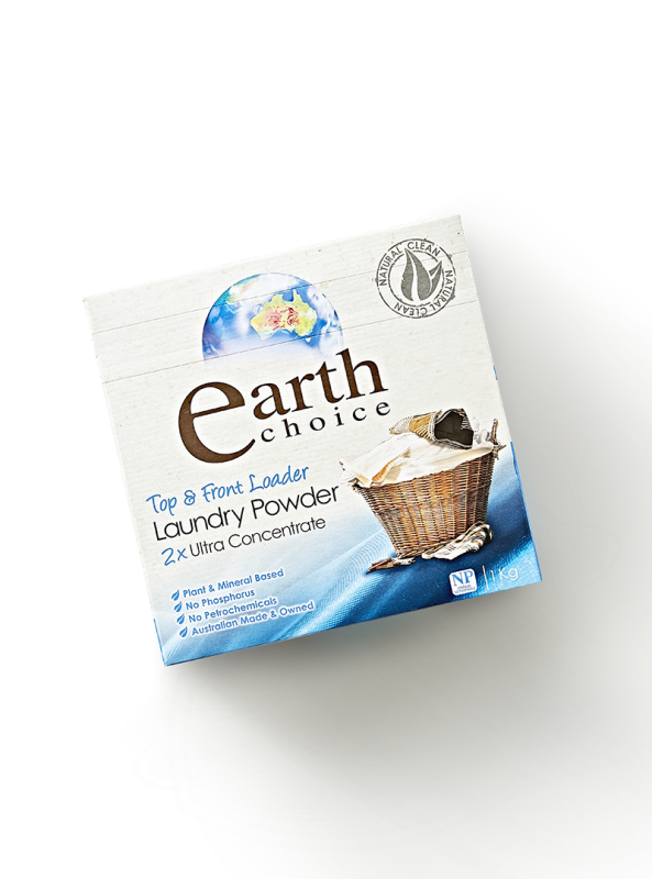 Ultra Concentrate Laundry Powder Detergent | Earth Choice