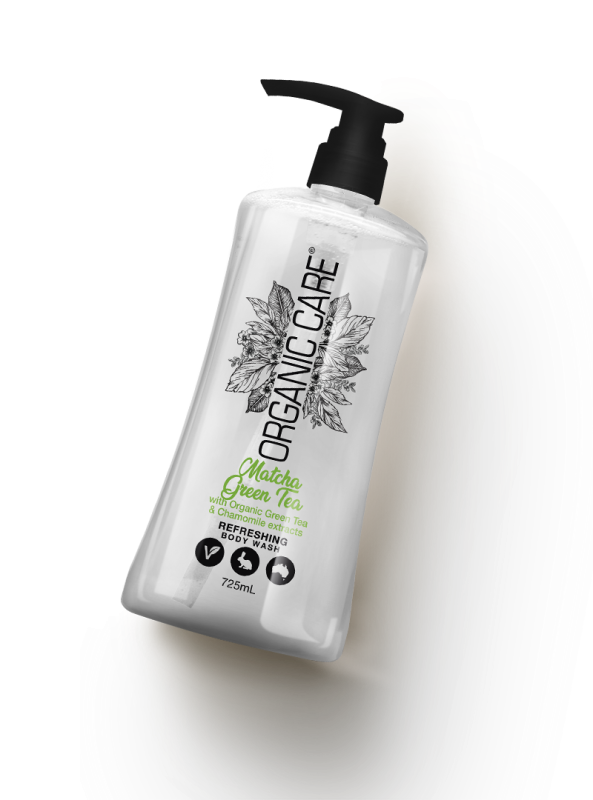 Matcha Green Tea Refreshing Body Wash
